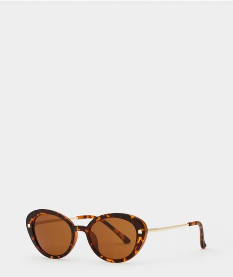 Kaylee Tortoise Shell Sunglasses