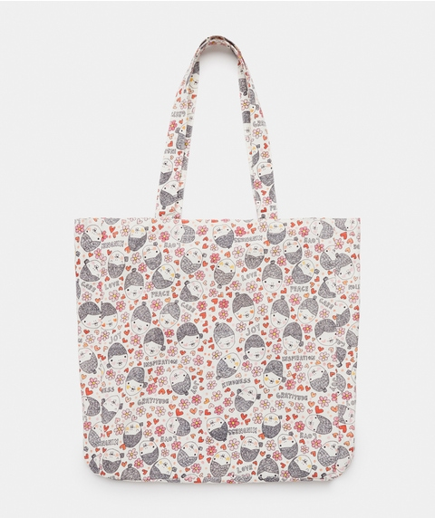 BCNA Cotton Tote Bag