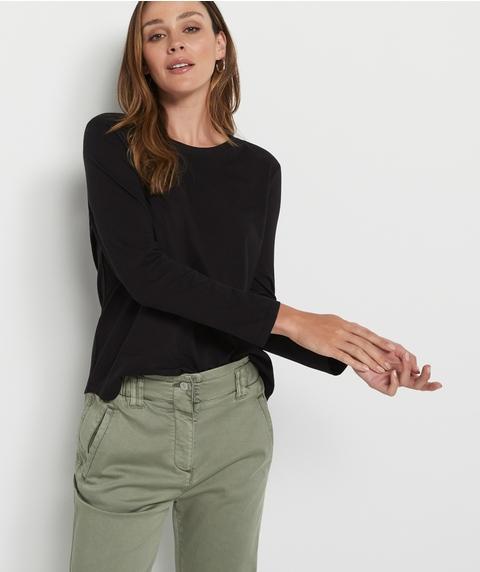 Australian Cotton Long Sleeve Top