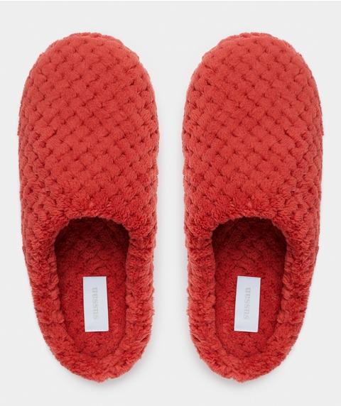 Textured Slipper