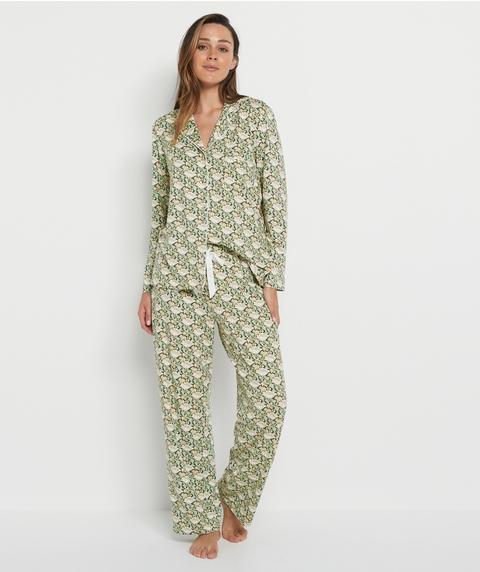 Nouveau Floral Pyjama Set