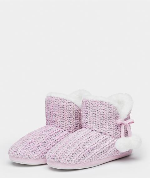 Chenille Boot
