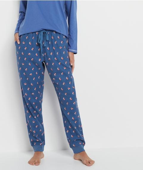 Owl Print Flannelette Pyjama Pant