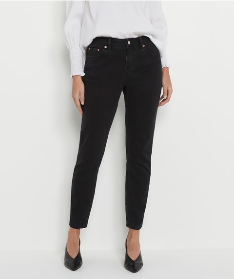 Black Relaxed Jean