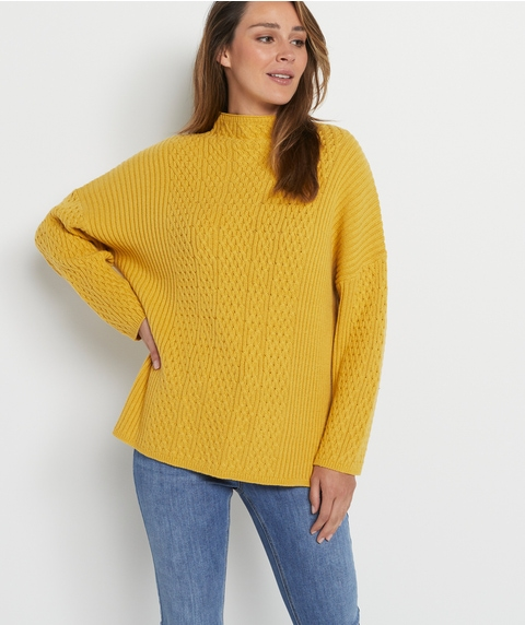 Cable Turtle Pullover