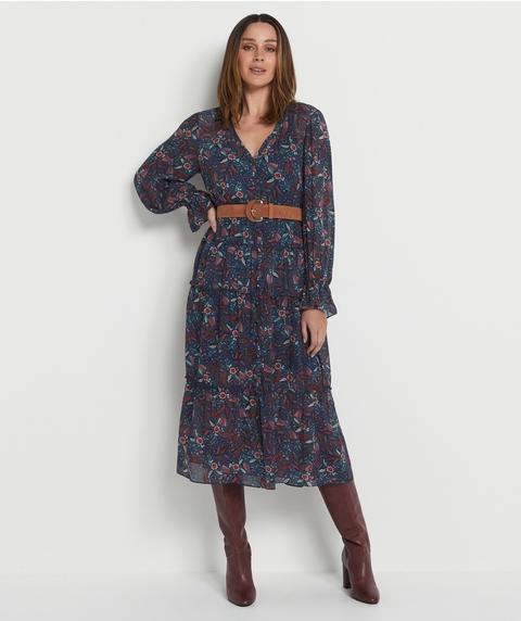 Paisley Patchwork Dress