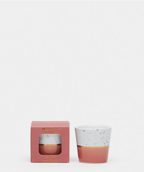 Moss St Small Plum & Rose Candle