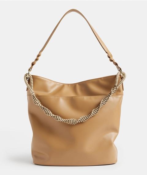 ROPE DETAIL SHOULDER BAG
