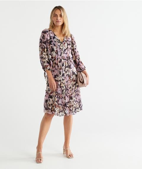 Layered Leaf Dress