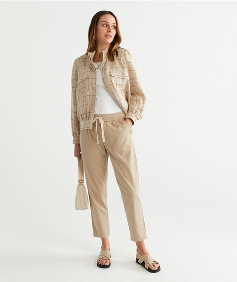 COTTON RELAXED PANT