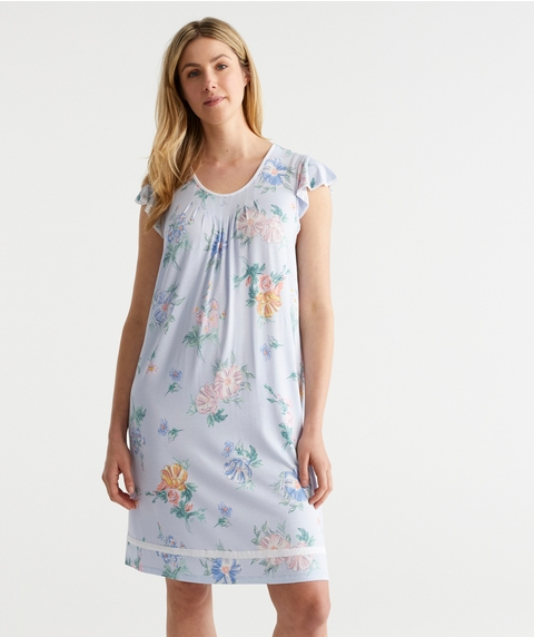 WR FLORAL PRINT S/S K NIGHT