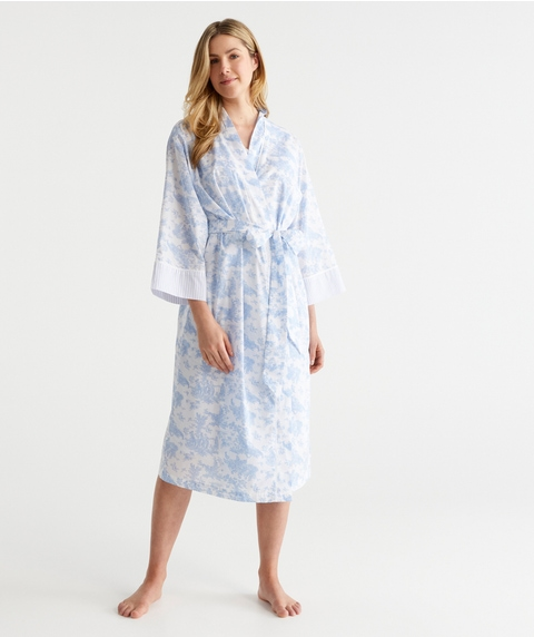 WR TOILE PRINT W GOWN