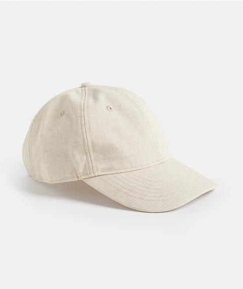 LINEN BASEBALL CAP