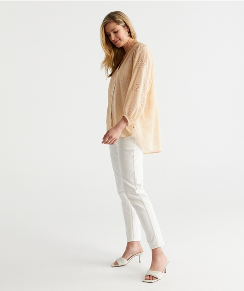 Soft Embriodery Blouse