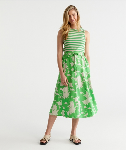 Shadow Floral Skirt