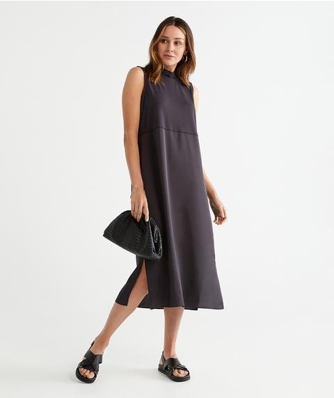 Knit Woven Dress