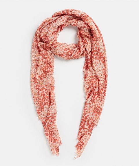 PINK DITSY SCARF