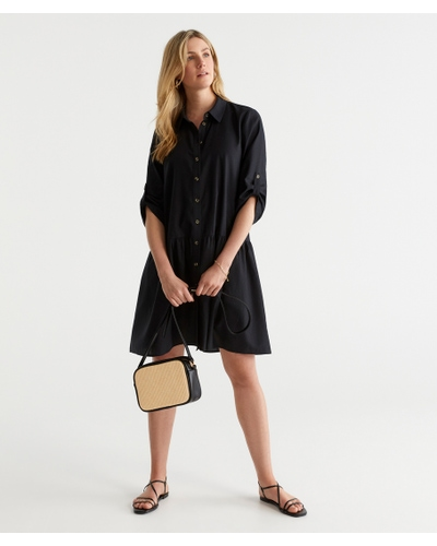 Linen Day Dress