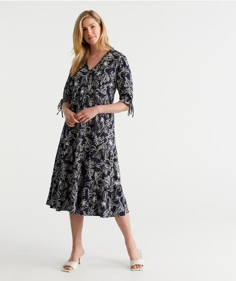 Print Australian Cotton Dress