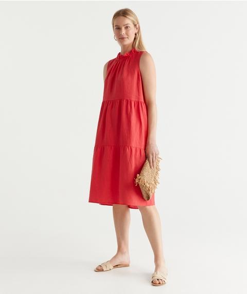 Linen Tank Dress