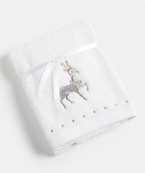 REINDEER HAND TOWEL
